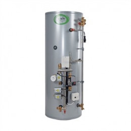 Joule Cyclone 250 Litre Smart Plumb Pre Plumbed Indirect Heat Only - 2 Zone Cylinder (TUMI-H0250-L3C)