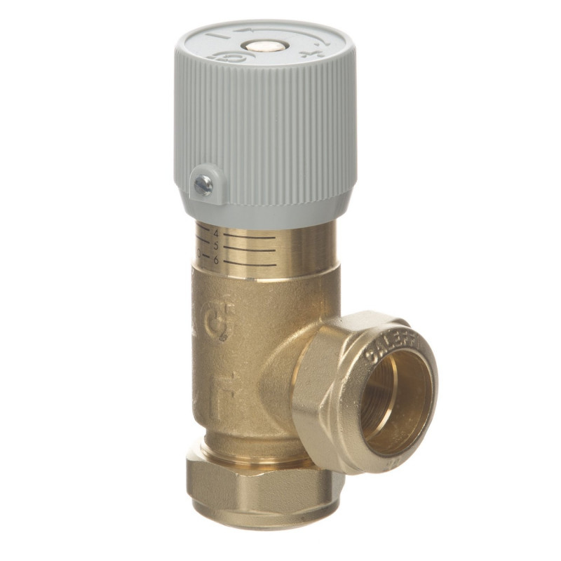 Ecopas Full Flow Differential Bypass Valve w/ Compression Ends (519002 GLW)