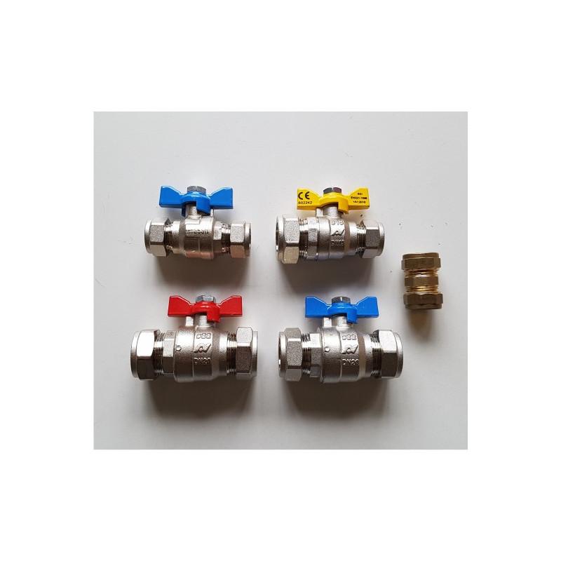 Intergas Combi Boiler Valve Set