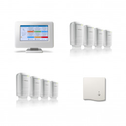 Honeywell evohome 8 Zone HR91 Modulation Pack