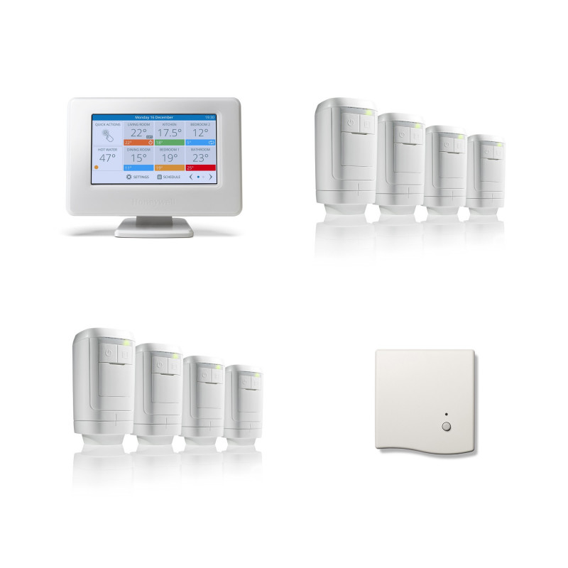 Honeywell Home evohome 8 Zone HR91 Modulation Pack