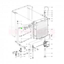 "Intergas Heat Exchanger 3/4"" Bonded Seal (875517)"