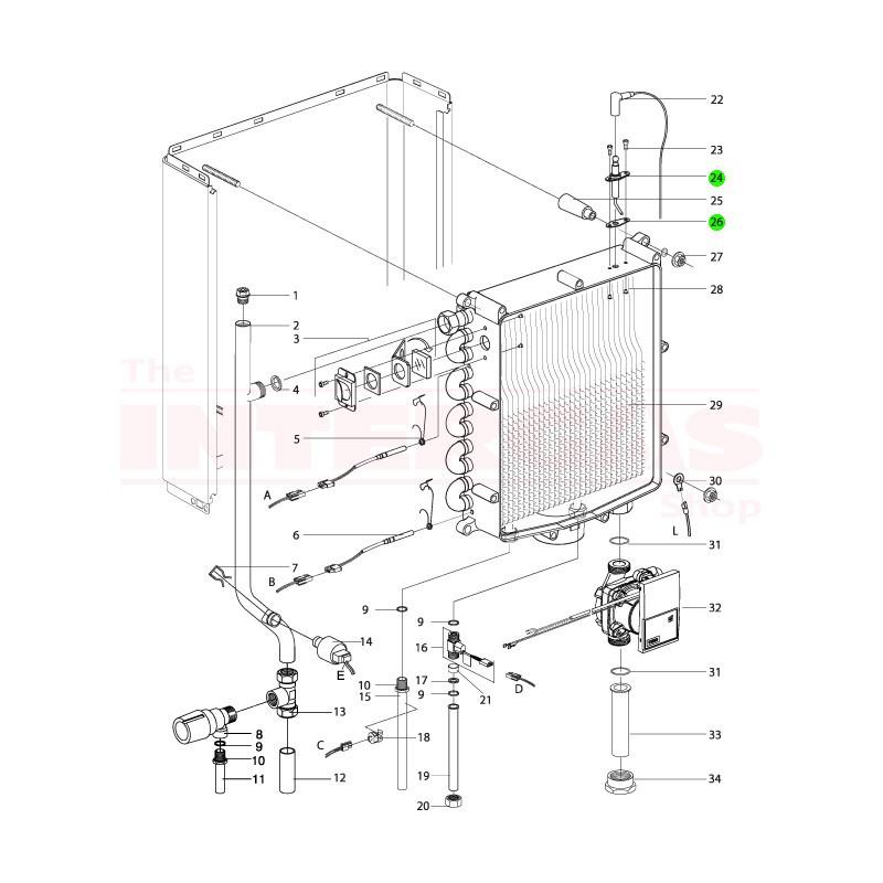 Intergas Ignition Pin (209327)