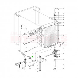 Intergas Pressure Sensor (864087)
