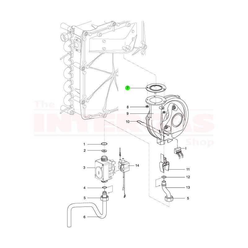 Intergas Fan Seal (877807)