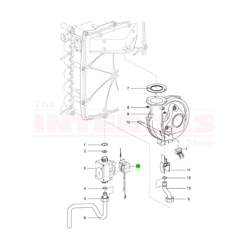 Intergas Ignition Module Siemens TQG43 (801537)