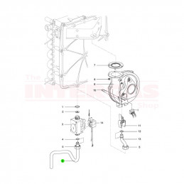 Intergas Gas Supply Pipe (854537)