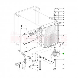 Intergas Boiler Pump Wilo RS15/7-3 (210367)