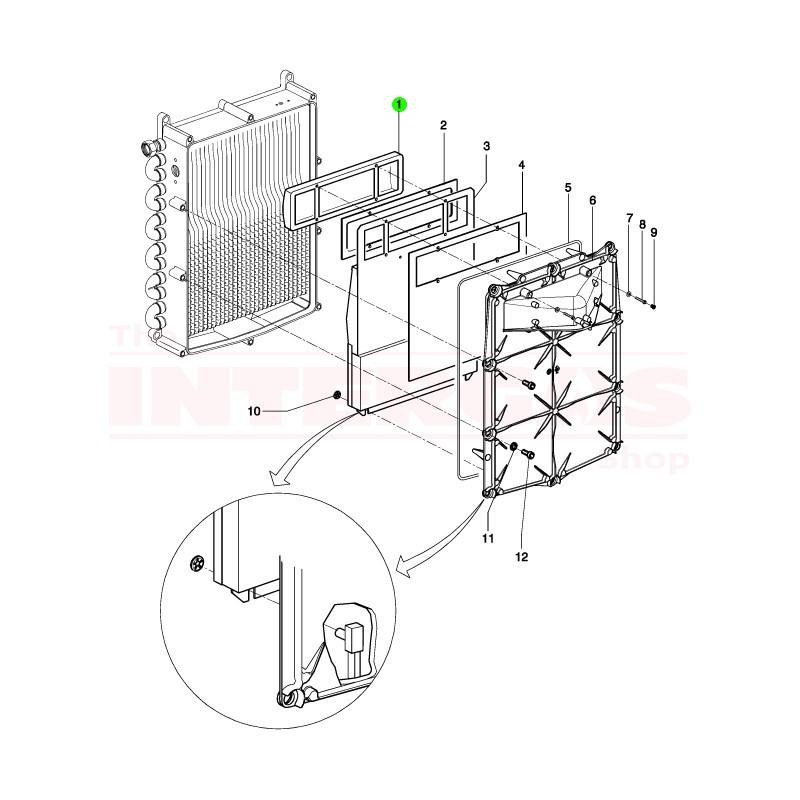 Intergas Burner Knit (800327)