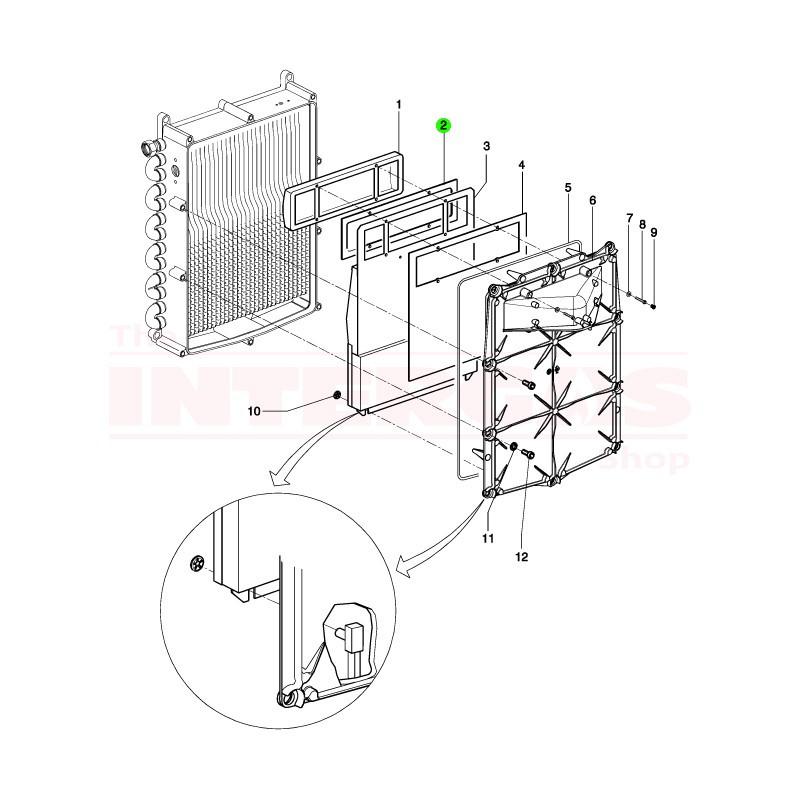 Intergas Burner Sealing Gasket (877847)