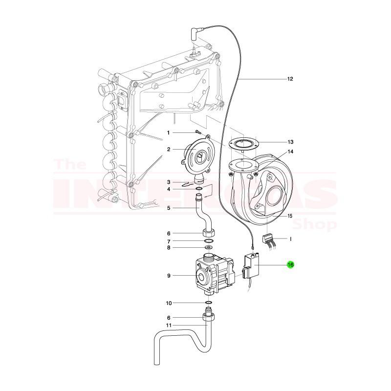 Intergas Ignition Module Siemens TQG33 (801487)