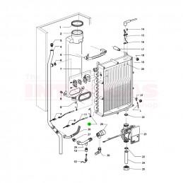 Intergas NTC Sensor Clip (873337)