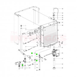 Intergas Seal Ring WRAS Viton 18.5mm x 13mm (875927)