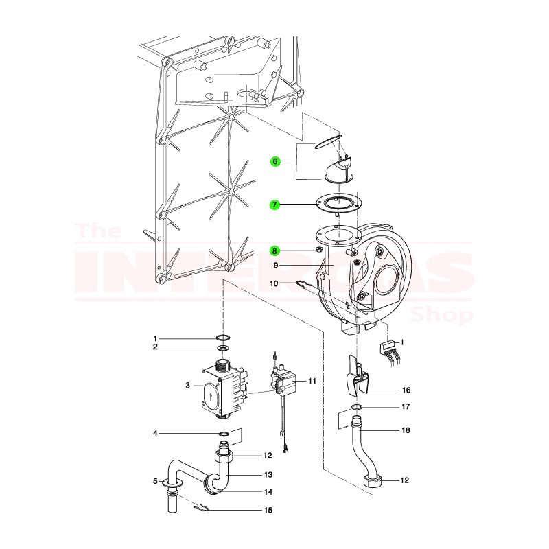 Intergas Flue Gas Non Return Valve (090417)