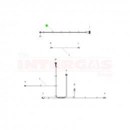 Intergas Fan Cable (221727)