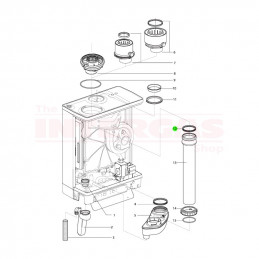Intergas Flue Pipe Inner Seal Ring 70mm x 82mm (878547)
