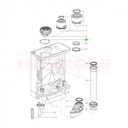 Intergas Flue Adaptor O-Ring Seal 115mm x 4mm (878527)