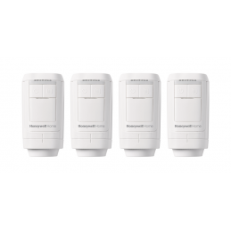 Honeywell Home evohome HR91 Radiator Controller 4 Pack (HR914)