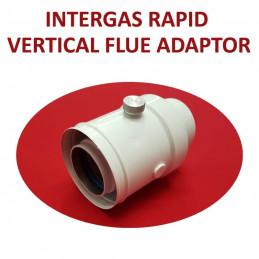 Intergas Rapid Vertical Flue Adaptor (086807)