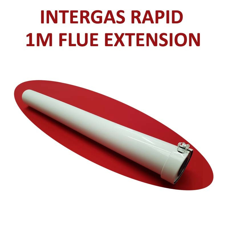 Intergas Rapid 1m Flue Extension 60/100mm (086649)