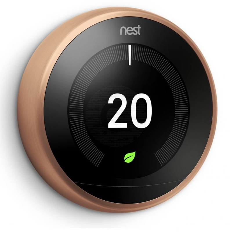 Nest Learning Thermostat 3rd Generation | Black | T3029EX | The INTERGAS Shop