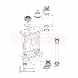 Intergas Condensate Trap Pipe (594157)