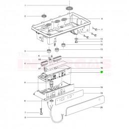 Intergas ECO RF Boiler Controller PCB (074687)